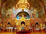 Interior of an Orthodox Christian Church