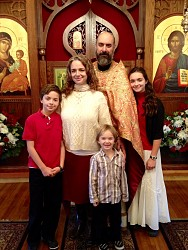 Fr. Athanasius Kone and Family